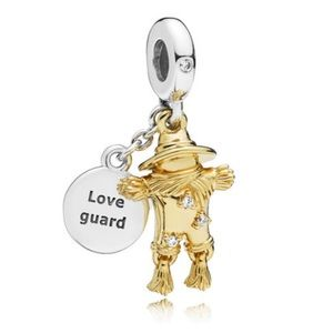 New Pandora Scarecrow Gaurdian Dangle Charm